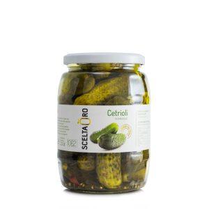 Cetrioli in agrodolce in vaso Scelta Oro 1062 ml