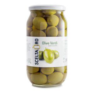 Olive verdi giganti 995 ml Scelta Oro