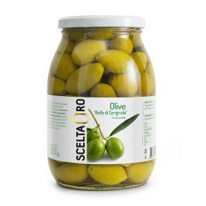 Olive Bella di Cerignola in vaso Scelta Oro 1062 ml