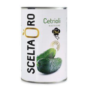 Cetrioli in aceto in latta Scelta Oro 4250 ml