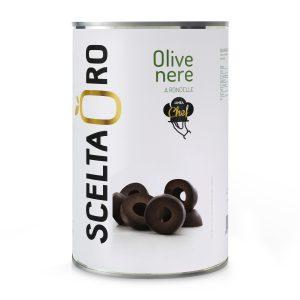 Olive nere a rondelle 4250 ml Scelta Oro