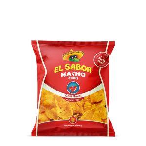 nachos chili 225g el sabor- sama