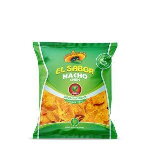 nachos jalapeno 225gr el sabor - SAMA