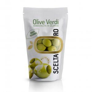 Olive Verdi denocciolate Scelta Oro