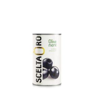 Olive nere denocciolate Scelta Oro 370 ml